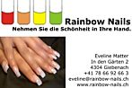 Rainbow Nails - In den Gärten 2 - 4304 Giebenach - Tel. +41 78 66 92 66 3 - eveline@rainbow-nails.ch
